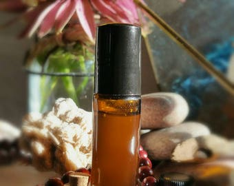 Moonlit Woodsong and Between The Trees - Organic Perfume/Cologne Oil