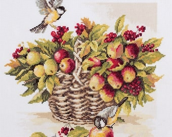 Counted Cross Stitch Kit Generous August N-1716
