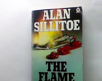 Alan Sillitoe The Flame of Life, paperback star, 1978