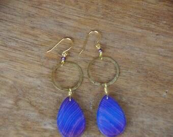 Boulder Opal Dangle Earrings