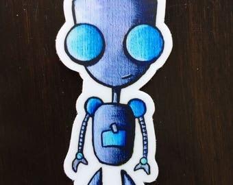 Grr Invader Zim Sticker