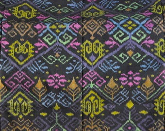 Made misris Indonesia ethnic handmade ikat fabric