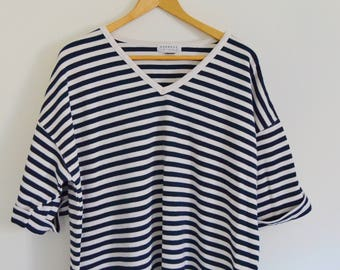 Vintage 1990's Plus Size Striped Top - Express
