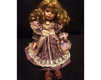 Vintage Ashely Belle Porcelain Doll
