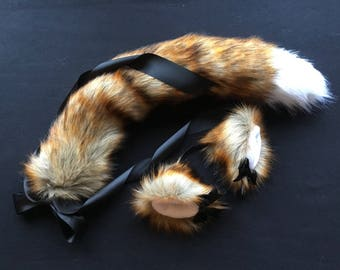 Red Fox Play Set Tail & Ears