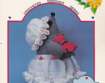 Mildred Mouse Doorstop & Baby, Dumplin Designs Crochet Pattern Booklet DL 1