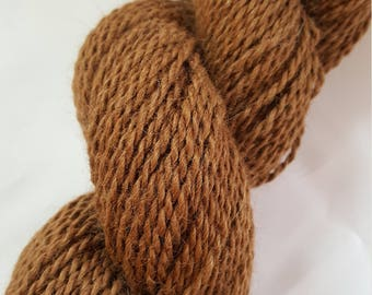 Alpaca Yarn - Earthy Brown