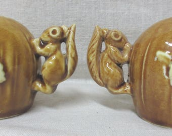 Pair of Vintage Squirrel salt and pepper shakers Colorado