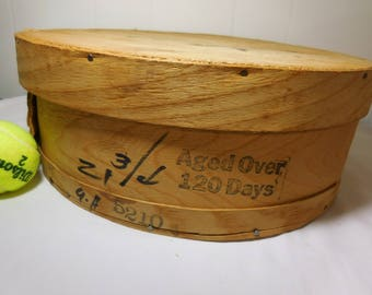 Wooden Cheese Wheel Box