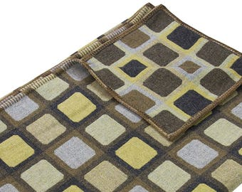 Modern Designer Blanket - FULL SQUIRCLE SAGE