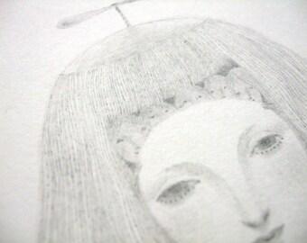 Original drawing • Lift off