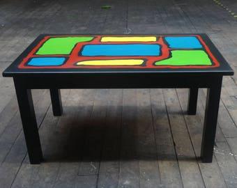 Modern Coloured Coffee table