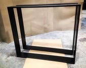 """1/2""""x 4"""" solid metal table legs (local pickup/No shipping)"""