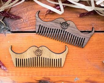 Beard Care, Beard Comb, Beard Combs, gifts for him, Beard Brush, Wooden Beard Comb, Mustache Comb, Wood Beard Comb, Mens Beard Comb,Mustache