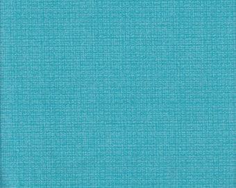 Color Weave - Per Yd - Contempo by Benartex - bright blue weave