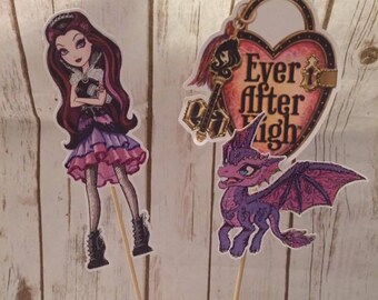 Ever After High Raven Queen  Party Cake Topper/Party Decor