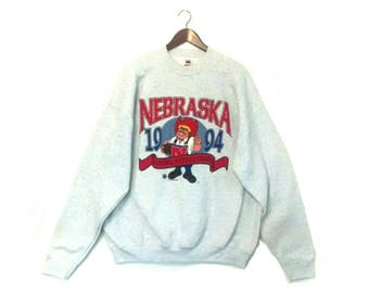 Vintage University of Nebraska 1994 National Football Champions crew sweatshirt