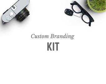 Custom Branding Kit - Shop Branding - Shop logo - Custom Logo Design - Personalized Logo - Shop Banner - Marketing - Sticker - Business Card