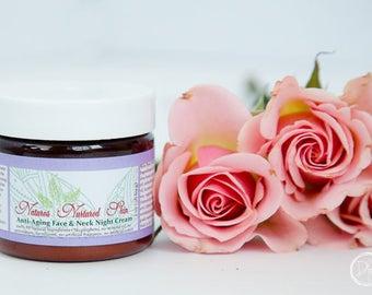 NEW! Night cream, face cream, face moisturizer, face lotion, wrinkle cream