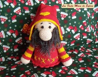 Megno crochet Christmas gnome