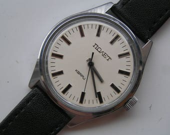 Vintage Russian Watch POLJOT Quartz USSR