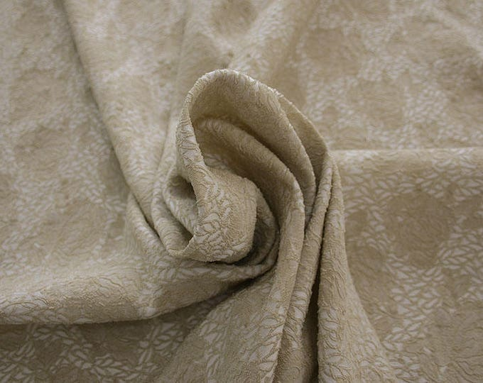 990091-007 JACQUARD-Pl 86, Pa 12, Ea 2%, width 150 cm, made in Italy, dry cleaning, weight 368 gr, Elastico