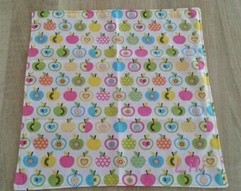 Napkin personalized Apple boy canteen towel, cloth napkin.