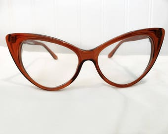 Vintage 50's Cat Eye Glasses
