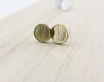 Mini Stud Earrings gold BOFA03047