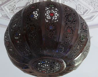 Oriental pendant lamp 1001 Night Marrakech 40 cm