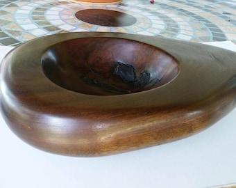 Live edge bowl