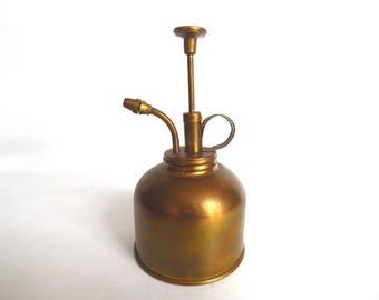 Vintage Brass Atomizer Plant Mister Oil Sprayer. #6A8G1F4K2B