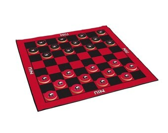 Northern Illinois University Huskies 2-in-1 Giant Checkers & All Weather Mat