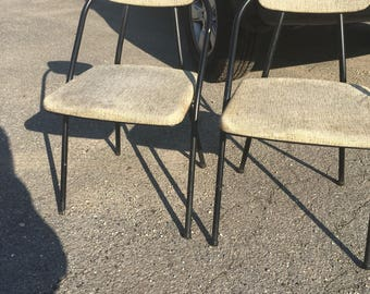 Pair of ultimate mid century modern folding chairs