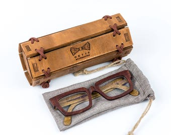 wooden glasses etsy - Wood Frame Glasses