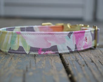 Girl Dog Collar, Dog Collar Girl, Flower Dog Collar, Dog Collar Flower, Floral Dog Collar, Dog Collar Floral, Girly Dog Collar, Wedding Dog,