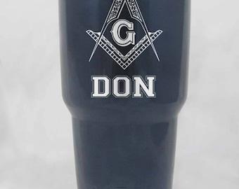 Mason custom 30 oz yeti cup personalized gift