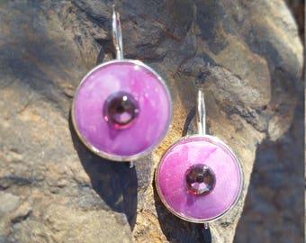 Amethyst Bliss Earrings / one of a kind / gift idea