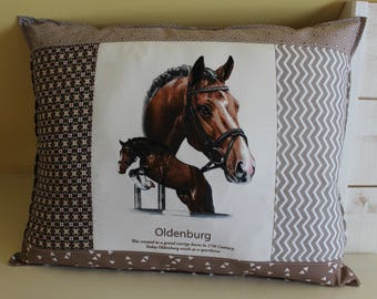 Horse pillow / OLDENBURG