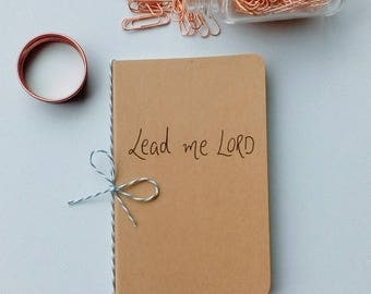 Notebook- Journal- Prayer Journal- Book