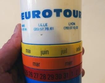 Cup - calendar advertising - vintage