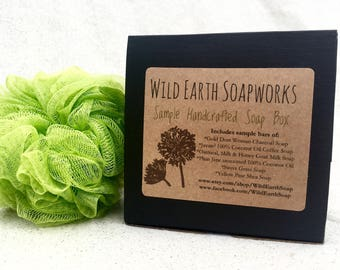 Handcrafted Soap Sample Box
