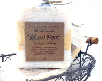 Yellow Pear handcrafted soap