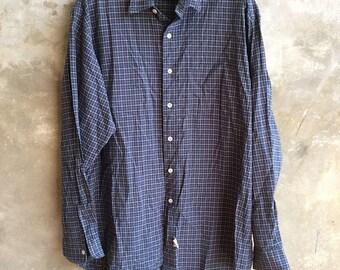 Vintage Polo Ralph Lauren Double RL Shirt Size L