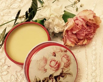 Rose Winter Solid Perfume