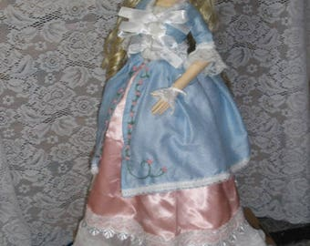 Sd 1/3 BJD Marie Antoinette Style Outfit
