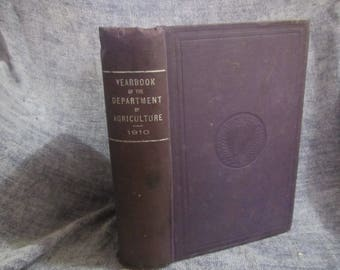 1910 ** Yearbook of the Department of Agriculture 1910 ** Dept of Agriculture **sj