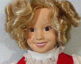 "14"" Shirley Temple as Heidi by the Danbury Mint"