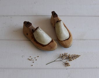 Vintage French Child shoe forms lasts cobblers form lasts