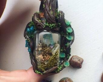Aqua arua Quartz giving tree